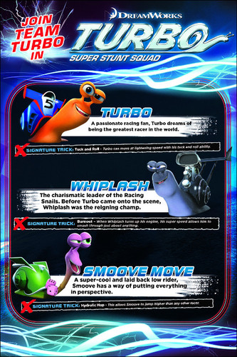 Turbo: Super Stunt Squad Character Reveal Page 1