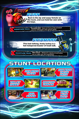 Turbo: Super Stunt Squad Character Reveal Page 2