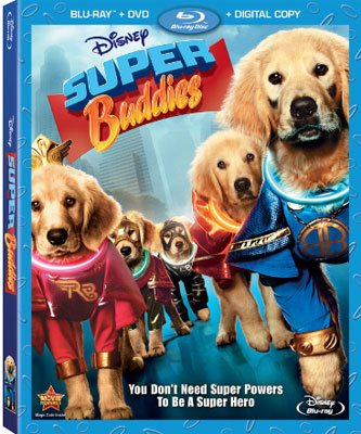 Super Buddies Blu-ray Combo Pack