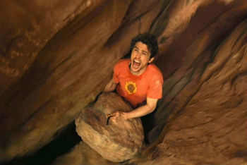 Scene from 127 Hours