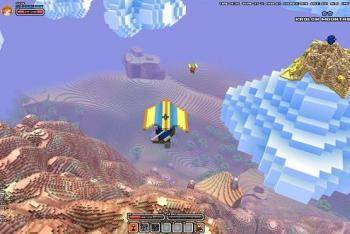 Hang Glide Cube World