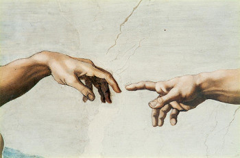 Michaelangelo painted the ceiling of The Sistine Chapel