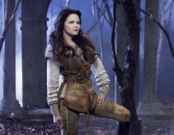 Ginnifer Goodwin plays Snow White/Mary Margaret
