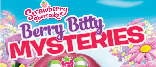 Strawberry Shortcake: Berry Bitty Mysteries Exclusive Coloring Sheet