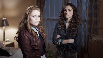 Lydia and Allison from Teen Wolf