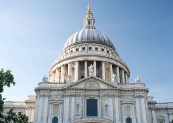 The famous St.Paul's Cathedral
