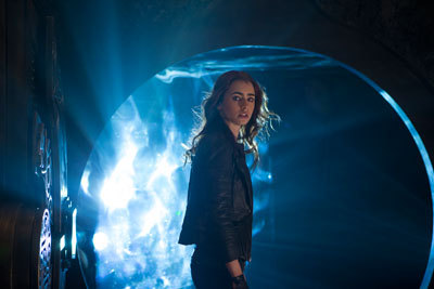 Clary (Lily Collins) discovers a portal