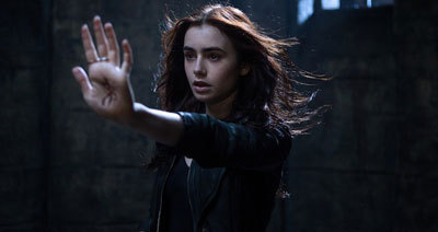 Clary uses her new powers