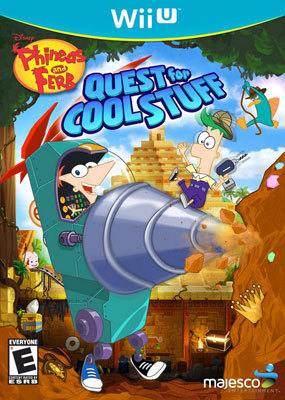 Phineas and Ferb: Quest for Cool Stuff: Wii U Game