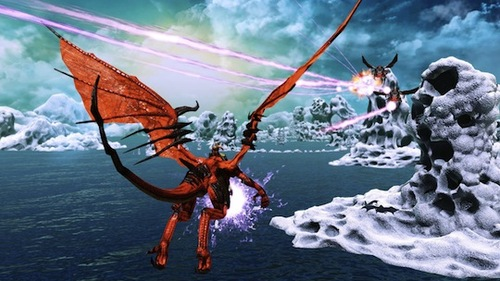 Dragon's that shoot lasers? Gimme gimme gimme!