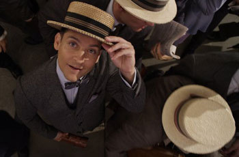 Tobey Maguire of Nick Carraway