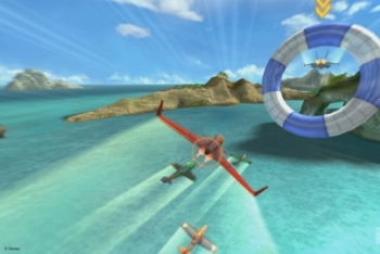 Disney's Planes Wii U hawaii Screenshot