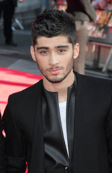 Zayn all dressed up