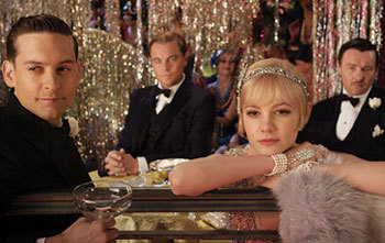 Nick, Gatsby, and Daisy