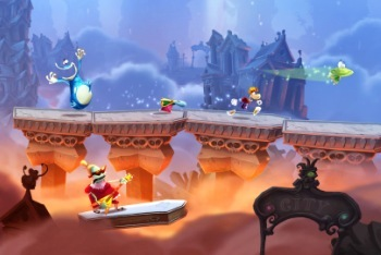 Rayman Legends Wii U screenshot