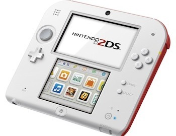 The Red/White 2DS looks great!