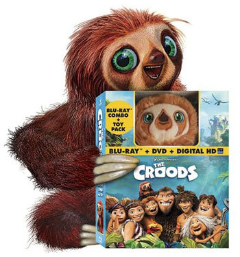 Croods combo pack with Belt toy