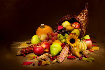 Canadian Thanksgiving is celebrated in October