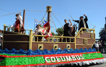 Columbus Day is a celebration of Italian culture in some cities