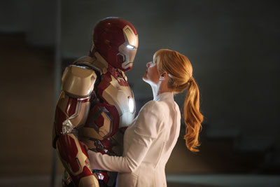 Iron Man and girlfriend Pepper