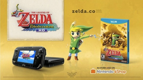 The Wind Waker Deluxe WiiU Bundle for $299!