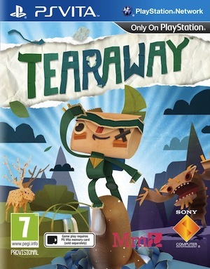 Tearaway, only on PS Vita!