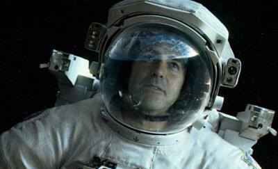 George Clooney as astronaut Kowalski