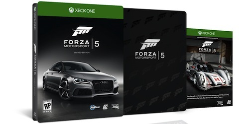 Forza Motorsport 5, only on Xbox One.