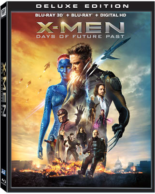 X-Men: Days of Future Past Blu-ray Cover Art