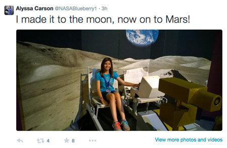 Will this 13-year-old girl be the first person on Mars?