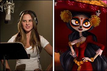 Kate del Castillo voices La Muerte