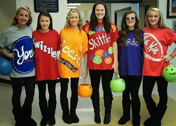 a sweet group costume thats as easy as it is delicious - Girl Group Halloween Costume