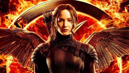 Katniss is back in a new teaser for Mockingjay.