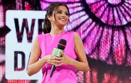 We Day host Selena Gomez