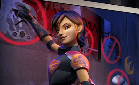 Star Wars Rebels premieres tonight and it's already back for another season!)