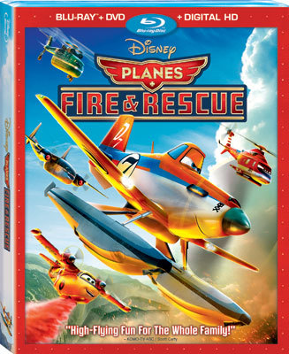 Planes: Fire and Rescue Blu-ray