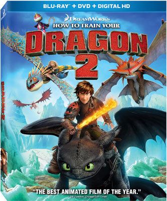 How To Train Your Dragon 2 Blu-ray