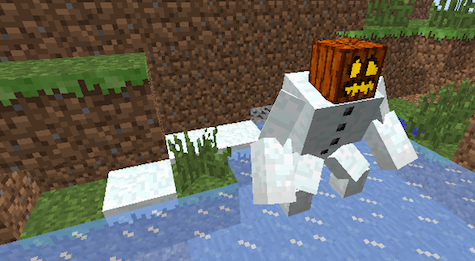 Spawn mutant snow golems with the Mutant Creatures mod.