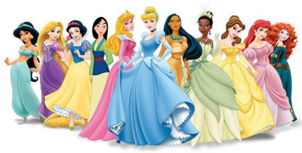 Disney Princesses have changed over the years
