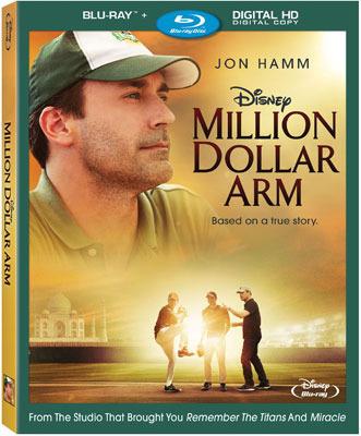 Million Dollar Arm Blu-ray