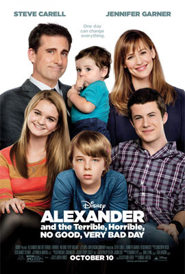Alexander and the Terrible, Horrible, No Good, Very Bad Day Poster
