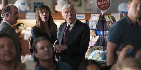 Mom (Jennifer Garner) tries to stop Dick Van Dyke