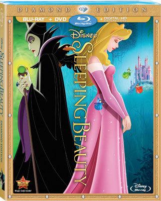 Sleeping Beauty: Diamond Edition Blu-ray Cover