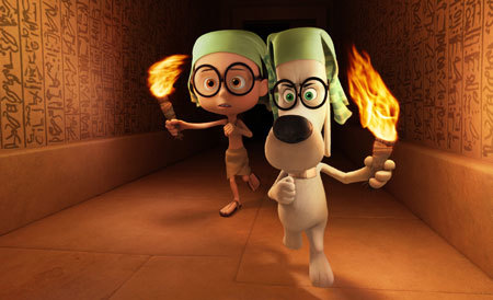 Mr. Peabody and Sherman in ancient Egypt