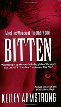 Cover of the Bitten novel
