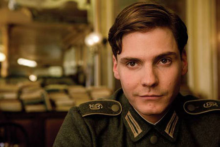Daniel Bruhl goes toe-to-toe with Captain America