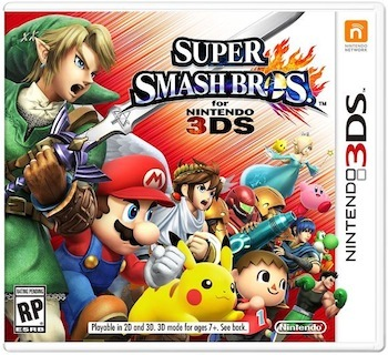 Super Smash Bros. for Nintendo 3DS is available now.