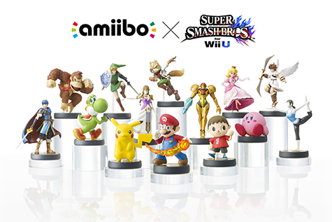 The first batch of Amiibos are here!