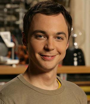Jim Parsons as Sheldon on Big Bang Theory