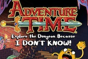 Read Kidzworld's game review of Adventure Time: Explore the dungeon because I don't know!
